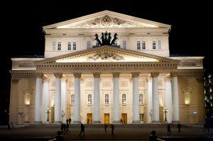 Arquitetura de Teatros, Bolshoi na Rússia