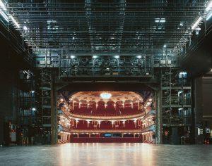 Arquitetura de Teatros caixa cênica